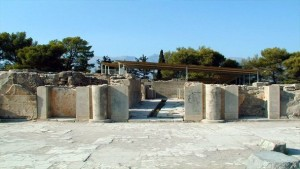 Минойский дворец в Фестосе